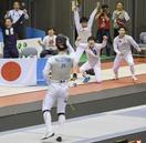 日本、男子フルーレ団体で優勝