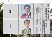 高浜町長選挙、4月19日投票