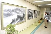 ■県水墨画同友会が秋季展示会(福井新聞社後援)