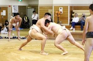 名門近畿大の相撲部員に胸…