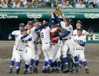 高校野球、履正社が初優勝
