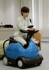 乗降楽な電動車いすを導入