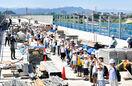 北陸新幹線最長九頭竜川橋つながる