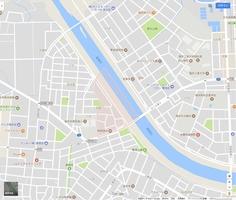 福井市水越1丁目 地図データ(C)2017 Google、ZENRIN