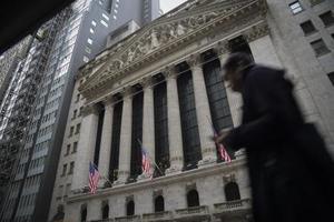 ニューヨーク証券取引所(ゲッティ=共同)