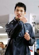 防衛戦へ、村田諒太が練習公開