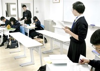 英語で生徒 熱い論戦 福井で全国大会 64高校、安楽死巡り