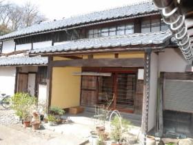 大野市指定文化財に指定された「田村又左衛門家屋敷」