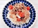 タラのコンフィ丼 低温油でじっくり調理 お箸が…