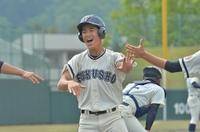 写真特集、春の県高校野球第7日