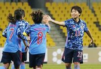 サッカーなでしこ、台湾に大勝