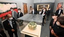 岐阜の巨匠展が県立美術館で開幕