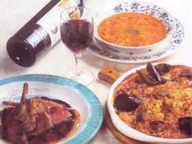粋で素朴でパワフルな地中海料理をアラカルトで楽しむ