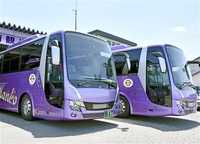 高機能大型バス導入 越前観光(鯖江) 空気清浄装置など搭載