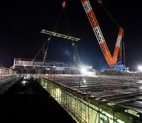 北陸新幹線敦賀車両基地の工事を公開