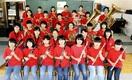 勝山中部中 吹奏楽部 合奏の「和」30人全力 エ…