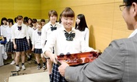 鯖江JK課、5期目始動 新メンバーに1、2年生9人 市役所で会見「活躍の場広げる」