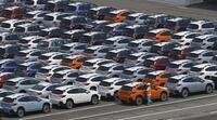 9月の自動車輸出、40%減少