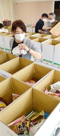 ひとり親家庭に 食品や菓子発送 福井の市民団体