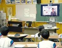 「夢、遅すぎることはない」 ビーチバレー・南谷選手 越前市国高小 オンライン授業 みんなで読もう