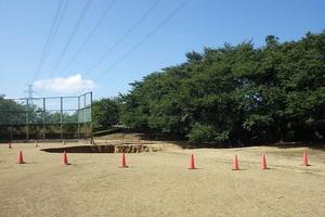 北陸新幹線の柿原トンネル掘削部地上部の陥没現場