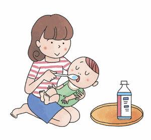 子どもの下痢嘔吐、原因と対処法