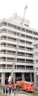 市消防局、はしご車2台更新 消火可能なビル拡大