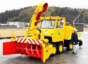 福鉄「軌陸両用」新型除雪車を導入