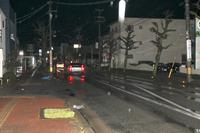街灯あるのに暗い市道  点灯されず「歩くのが怖い」福井の住民、不安の声
