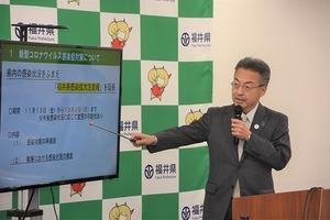 福井県、感染拡大注意報を再延長