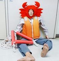 ノリオ君(仮称)越前ガニバージョン