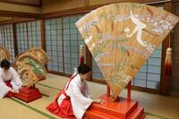 熊野速玉大社「扇立祭」へ準備