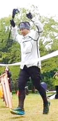 高岸さん(福井) 100マイルの部優勝 ヤリカン12耐&100mile ふくいスポーツぷらざ