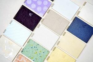 越前和紙100種類、あなたのノート
