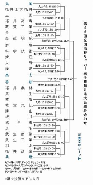 北陸は羽水―福井商業勝者と対戦