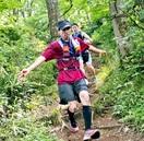 20時間 体力の限界挑む 文殊山で「トレイルラン」