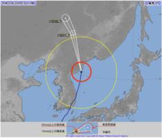 動き 号 の 台風 10