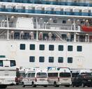 クルーズ船で新たに70人感染