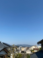 晴天となった4月30日の福井市