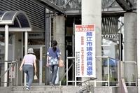 鯖江市議会議員選挙23時ごろ大勢