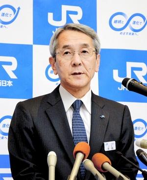特急存続、JR西日本社長の考えは
