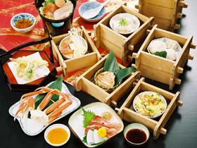敦賀インターから車で5分。食事は事前の予約を