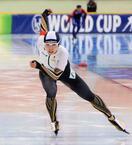 女子500mで小平奈緒3位