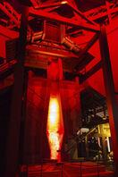 迫力の高炉と極細麺の関係 製鉄の歴史知る産業遺…