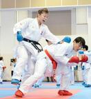 空手の日本代表選手が合宿公開
