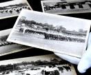 高等女学校運動会の絵はがき (1921年) 女…