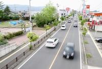 国体開会式後の周辺渋滞が課題