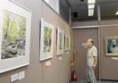 生き生き季節表現 油絵など27点展示 敦賀の洋画…