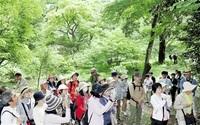 時代を超える自然堪能 皇居の森、令和初の観察会