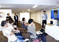 福井の生活 VRで体験 関係人口増へ 県がフェア こちら東京